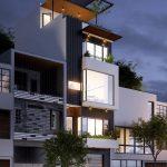 mẫu nhà 5 tầng đẹp